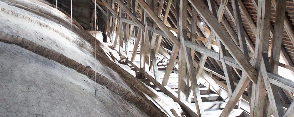 Dachstuhl – Schutzengelkirche, Eichstätt