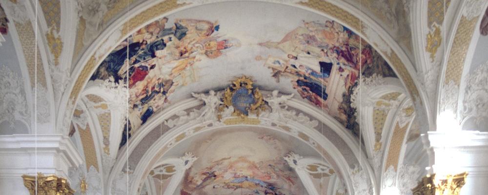 Gewölbe – Studienkirche, Dillingen