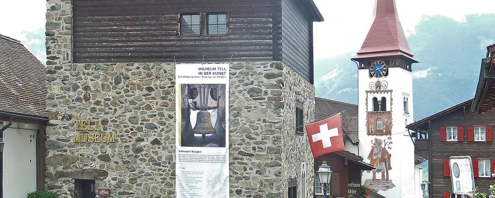 Wilhelm Tell in der Kunst – Ausstellung im Tellmuseum, Bürglen 2012