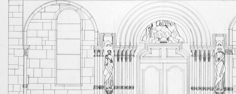 Nordportal – St. Pierre et St. Paul, Neuwiller Lès Saverne