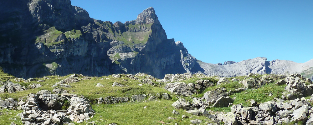 Ehem. Alphütte mit Pferch, Attinghausen-Geissrüggen